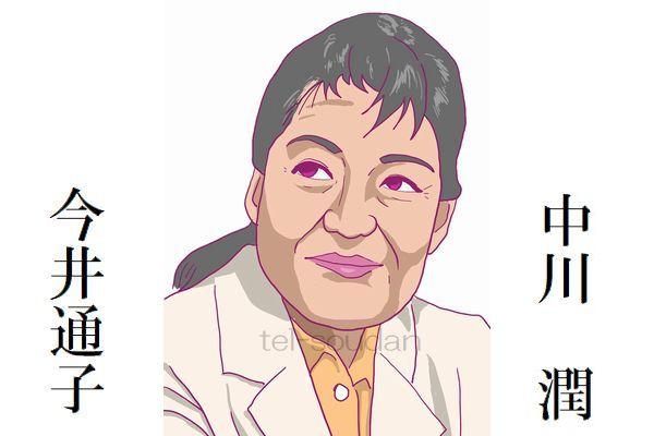 今井通子,中川潤
