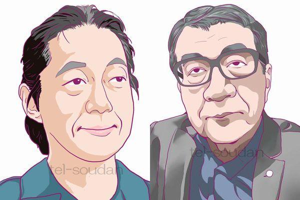 ドリアン助川・高橋龍太郎