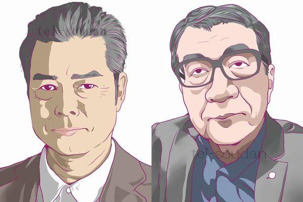 勝野洋・高橋龍太郎